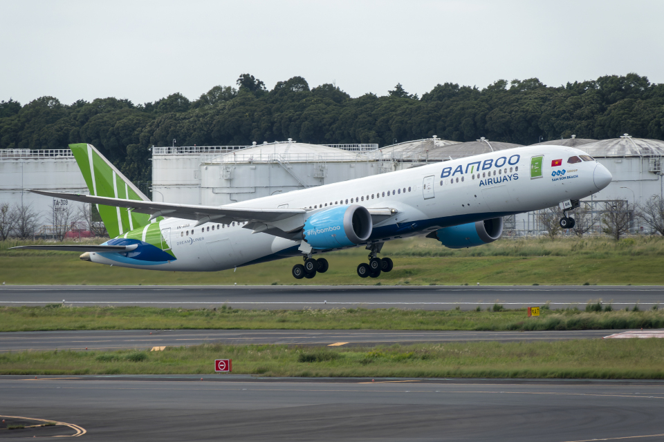 K.Sさんのバンブー・エアウェイズ Boeing 787-9 (VN-A818) 航空フォト