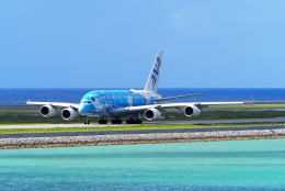 航空フォト:JA381A 全日空 A380