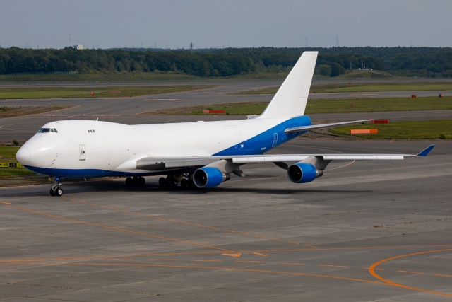 TIA spotterさんが、新千歳空港で撮影したドバイ・ロイヤル・エア・ウィング 747-412F/SCDの航空フォト(飛行機 写真・画像)