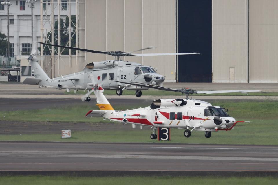 EXIA01さんの三菱重工業 Mitsubishi SH-60L (8501) 航空フォト