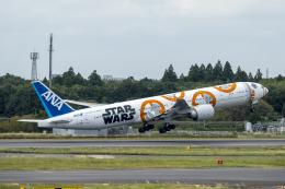 K.Sさんが、成田国際空港で撮影した全日空 777-381/ERの航空フォト(飛行機 写真・画像)