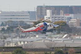 Deepさんが、伊丹空港で撮影した広島県防災航空隊 AW139の航空フォト(飛行機 写真・画像)