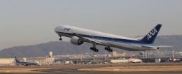ちゅーげんさんが、伊丹空港で撮影した全日空 777-381/ERの航空フォト(飛行機 写真・画像)