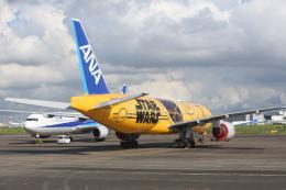 安芸あすかさんが、羽田空港で撮影した全日空 777-281/ERの航空フォト(飛行機 写真・画像)
