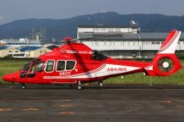 RJOY_Spotterさんが、八尾空港で撮影した大阪市消防航空隊 EC155B1の航空フォト(飛行機 写真・画像)