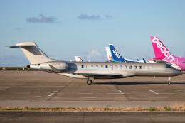 MARK0125さんが、石垣空港で撮影したPhenix Jet BD-700-2A12 Global 7500の航空フォト(飛行機 写真・画像)