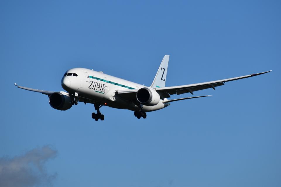 おすずこずんさんの日本航空 Boeing 787-8 Dreamliner (JA825J) 航空フォト