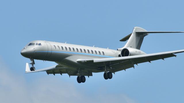 パンダさんが、成田国際空港で撮影したRKS-フェニックス・ジェット BD-700-2A12 Global 7500の航空フォト(飛行機 写真・画像)