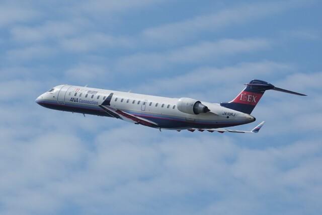 jutenLCFさんが、中部国際空港で撮影したアイベックスエアラインズ CL-600-2C10(CRJ-702ER)の航空フォト(飛行機 写真・画像)