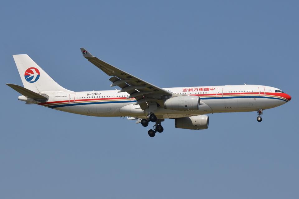 Deepさんの中国東方航空 Airbus A330-200 (B-5920) 航空フォト