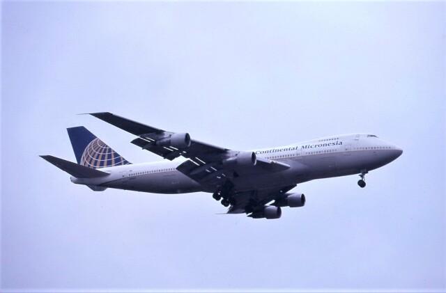 kumagorouさんが、成田国際空港で撮影したコンチネンタル・ミクロネシア 747-243Bの航空フォト(飛行機 写真・画像)
