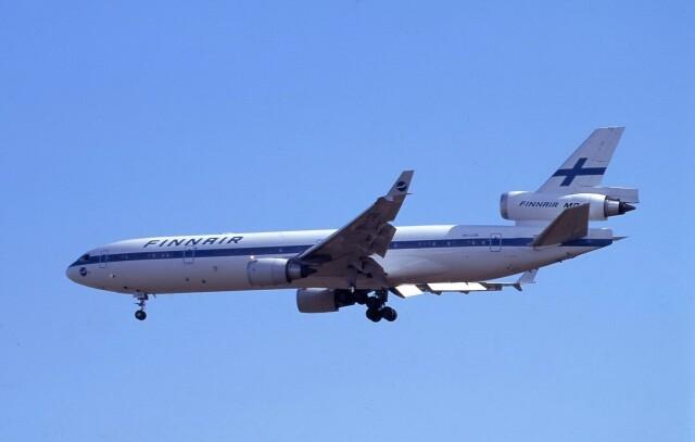 kumagorouさんが、成田国際空港で撮影したフィンエアー MD-11の航空フォト(飛行機 写真・画像)