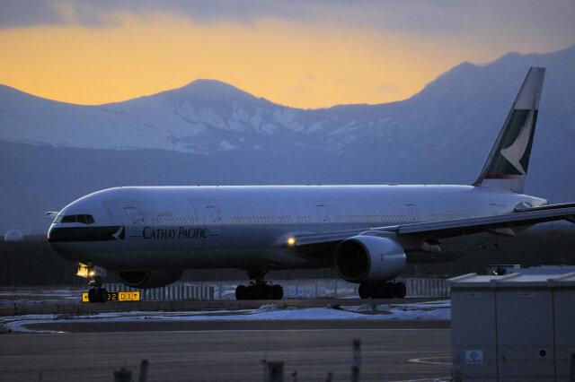 2018年12月25日に撮影されたキャセイパシフィック航空の航空機写真