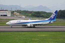 神宮寺ももさんが、高松空港で撮影した全日空 737-8ALの航空フォト(飛行機 写真・画像)