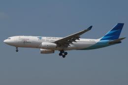 Deepさんが、成田国際空港で撮影したガルーダ・インドネシア航空 A330-243の航空フォト(飛行機 写真・画像)