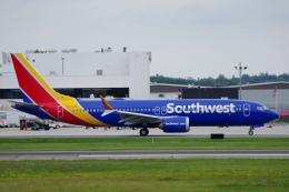 zettaishinさんが、ポートランド国際ジェットポートで撮影したサウスウェスト航空 737-8-MAXの航空フォト(飛行機 写真・画像)