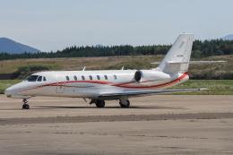 西風さんが、大館能代空港で撮影した朝日航洋 680 Citation Sovereignの航空フォト(飛行機 写真・画像)