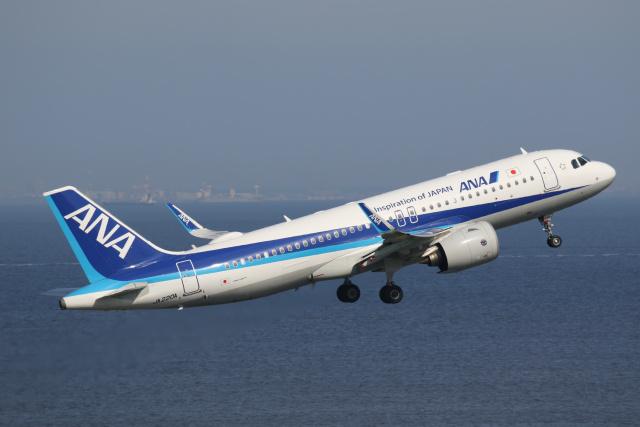 航空フォト:JA220A 全日空 A320neo