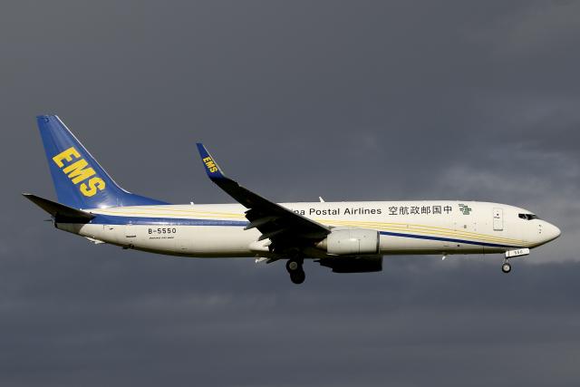 航空フォト:B-5550 中国郵政航空 737-800