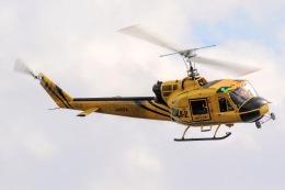 きりしまさんが、東京ヘリポートで撮影したアカギヘリコプター 204B-2(FujiBell)の航空フォト(飛行機 写真・画像)