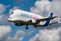 gomaさんが、インゴルシュタット・マンヒング空港で撮影したエアバス・トランスポート・インターナショナル A300B4-608STの航空フォト(飛行機 写真・画像)