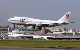 ansett747さんが、福岡空港で撮影した日本アジア航空 747-346の航空フォト(飛行機 写真・画像)