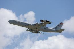 チャッピー・シミズさんが、嘉手納飛行場で撮影したアメリカ空軍 E-3B Sentry (707-300)の航空フォト(飛行機 写真・画像)