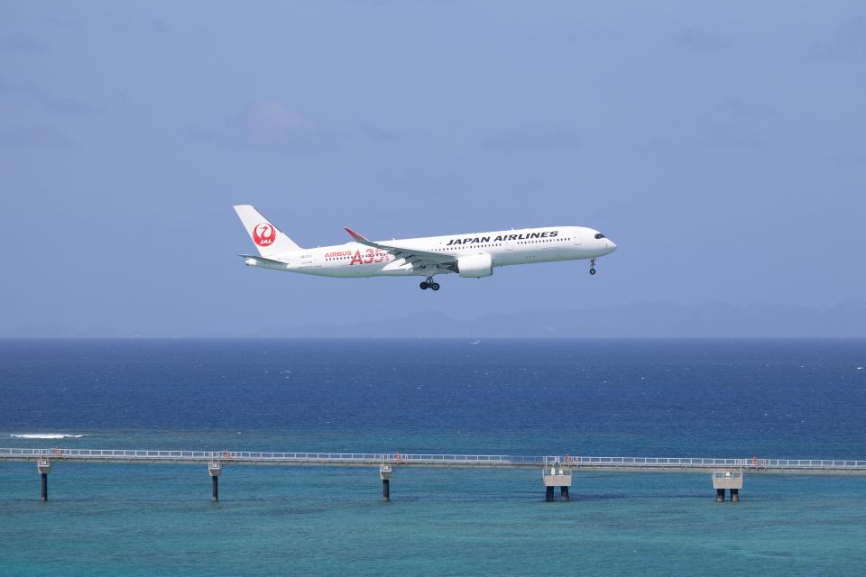 チャッピー・シミズさんの日本航空 Airbus A350-900 (JA01XJ) 航空フォト