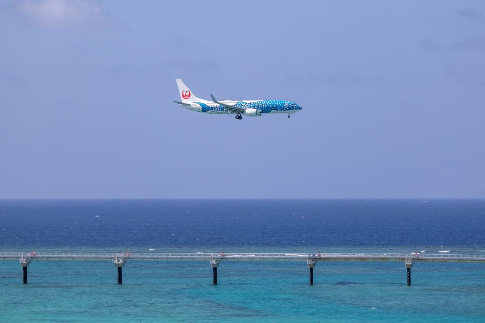チャッピー・シミズさんの日本トランスオーシャン航空 Boeing 737-800 (JA05RK) 航空フォト