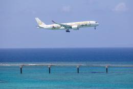チャッピー・シミズさんが、那覇空港で撮影した日本航空 A350-941の航空フォト(飛行機 写真・画像)