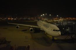 hachiさんが、香港国際空港で撮影した南アフリカ航空 A340-313Xの航空フォト(飛行機 写真・画像)