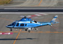 じーく。さんが、名古屋飛行場で撮影した愛知県警察 A109E Powerの航空フォト(飛行機 写真・画像)