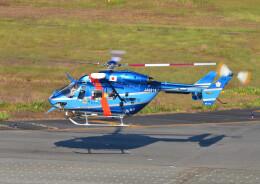 じーく。さんが、名古屋飛行場で撮影した愛知県警察 BK117C-1の航空フォト(飛行機 写真・画像)