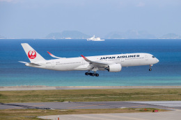JA1118Dさんが、那覇空港で撮影した日本航空 A350-941の航空フォト(飛行機 写真・画像)