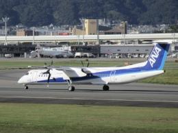 sakura saidaさんが、伊丹空港で撮影したANAウイングス DHC-8-402Q Dash 8の航空フォト(飛行機 写真・画像)