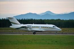 hidetsuguさんが、新千歳空港で撮影したプライベートエア CL-600-2B16 Challenger 604の航空フォト(飛行機 写真・画像)