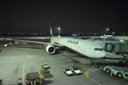 hachiさんが、台湾桃園国際空港で撮影したエバー航空 777-35E/ERの航空フォト(飛行機 写真・画像)