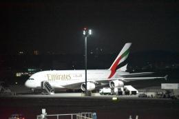 hachiさんが、台湾桃園国際空港で撮影したエミレーツ航空 A380-861の航空フォト(飛行機 写真・画像)