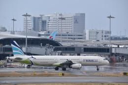 hachiさんが、関西国際空港で撮影したエアプサン A321-231の航空フォト(飛行機 写真・画像)