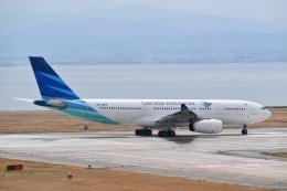 hachiさんが、関西国際空港で撮影したガルーダ・インドネシア航空 A330-243の航空フォト(飛行機 写真・画像)