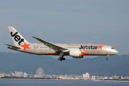 天王寺王子さんが、関西国際空港で撮影したジェットスター 787-8 Dreamlinerの航空フォト(飛行機 写真・画像)