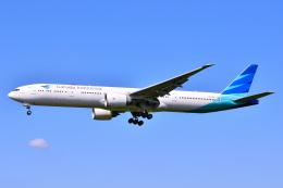 フリューゲルさんが、成田国際空港で撮影したガルーダ・インドネシア航空 777-3U3/ERの航空フォト(飛行機 写真・画像)