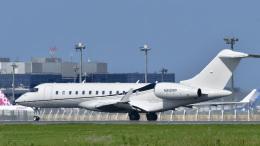 パンダさんが、成田国際空港で撮影したウィルミントン・トラスト・カンパニー BD-700-1A10 Global Expressの航空フォト(飛行機 写真・画像)