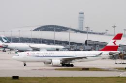 senyoさんが、関西国際空港で撮影したオーストリア航空 A330-223の航空フォト(飛行機 写真・画像)