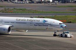 sin747さんが、羽田空港で撮影したガルーダ・インドネシア航空 777-3U3/ERの航空フォト(飛行機 写真・画像)