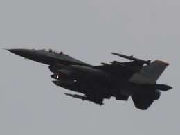FT51ANさんが、三沢飛行場で撮影したアメリカ空軍 F-16CM-50-CF Fighting Falconの航空フォト(飛行機 写真・画像)