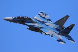 たまさんが、新田原基地で撮影した航空自衛隊 F-15DJ Eagleの航空フォト(飛行機 写真・画像)
