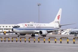 磐城さんが、北京首都国際空港で撮影した中国国際航空 737-3J6の航空フォト(飛行機 写真・画像)