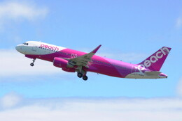 動物村猫君さんが、大分空港で撮影したピーチ A320-214の航空フォト(飛行機 写真・画像)