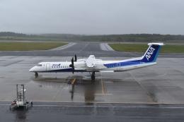 hachiさんが、中標津空港で撮影したANAウイングス DHC-8-402Q Dash 8の航空フォト(飛行機 写真・画像)